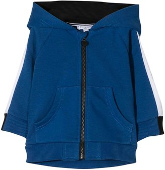 Givenchy Blue Baby Sweatshirt With Hood