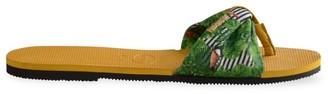 Havaianas You St. Tropez Tropical-Print Flip Flops
