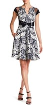 Eva Franco Kier Printed Dress