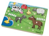 Kid Kraft Barnyard Animals 6pc Sound Puzzle