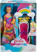 Barbie Dreamtopia Rainbow Swing Playset, Black