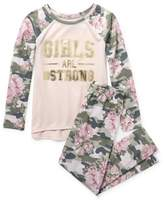 The Children's Place Girl's 2 Piece Strong Pajama Sleep Set (Big Girls & Little Girls)