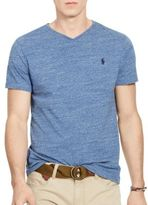 Polo Ralph Lauren Heathered Jersey V-Neck Tee