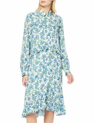 Rich & Royal rich&royal Women's Printed Midi Dress