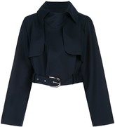 KHAITE Krista cropped cotton jacket