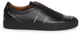 Givenchy Urban Street Logo Leather Sneakers