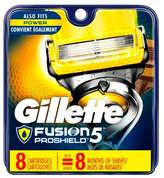 Gillette Fusion® ProShield Men's Razor Blade Refills 8 ct