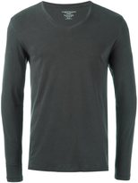 Majestic Filatures longsleeved v-neck T-shirt - men - Cotton/Spandex/Elastane - XXL