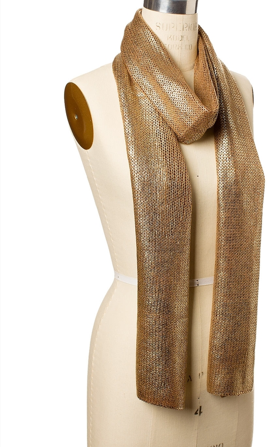 The Limited Foil Sweater Scarf