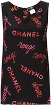 Chanel Pre Owned sleeveless top