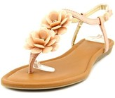 Rampage Dandylion Open-toe Synthetic Slingback Sandal.
