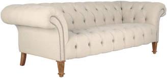 OKA Chester 3-Seater Sofa - Natural Linen