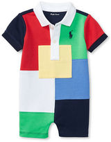 Ralph Lauren Baby Boys Baby Boy Patched Colorblock Shortall