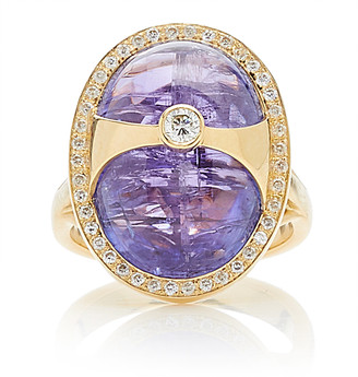 EOS Yi Collection 18K Gold And Tanzanite Ring