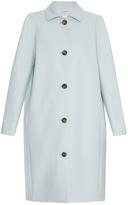 Balenciaga Single-breasted wool-blend coat