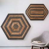 Wood Parquetry Wall Art