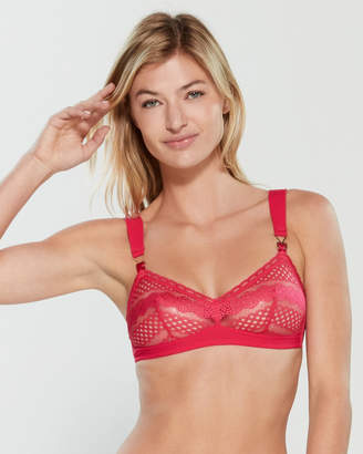 Stella McCartney Ophelia Whistling Lace Bralette