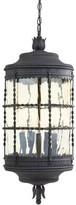 Calem 5-Light Outdoor Hanging Lantern Gracie Oaks Finish: Spanish Iron Textured Black Powder Coat