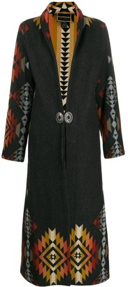 Jessie Western Engraved Button Coat