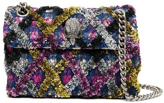 Kurt Geiger Sequin Embellished Shoulder Bag