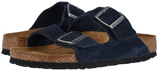 Birkenstock Arizona Soft Footbed (Night Suede) Sandals