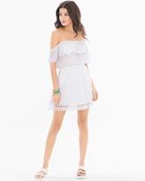 Soma Intimates Crochet Trim Dress