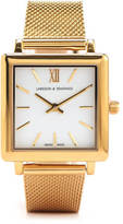 Larsson & Jennings Norse 34mm Milanese Strap Watch Gold
