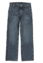 Wrangler Boys Straight Fit Carpenter Jean - DK Denim