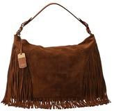 Lauren Ralph Lauren Faulk Large Hobo (Nutmeg) - Bags and Luggage
