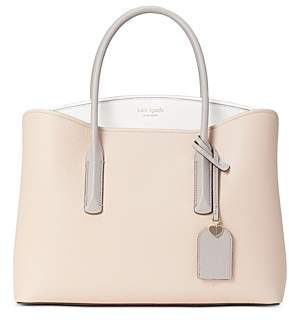 Kate Spade Margaux Large Leather Satchel