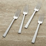 Crate & Barrel Set of 4 Dinner Forks