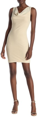 Emory Park Cowl Neck Sleeveless Mini Dress