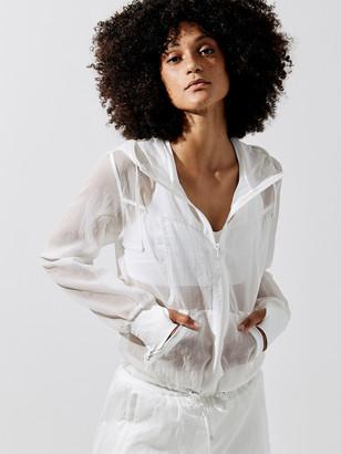 Blanc Noir Sojourner Transparent Jacket