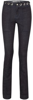 Victoria Victoria Beckham Victoria, Victoria Beckham Lace-up High-rise Bootcut Jeans
