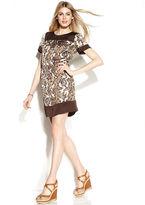 MICHAEL Michael Kors Animal-Print Blouson Dress