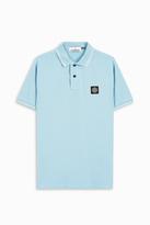 Stone Island Slim Fit Logo Polo Shirt