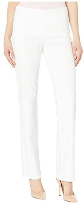 NYDJ Marilyn Straight Pull-On Jeans in Optic White (Optic White) Women's Jeans