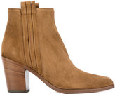 Sartore mid heel ankle boots - women - Leather/Suede - 37.5