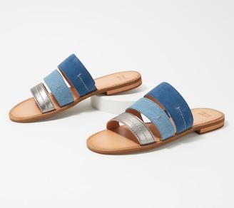frye & co. Slide Sandals - Evie