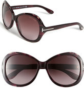 'Cecile' Oversized Round Sunglasses