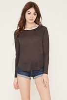 Forever 21 FOREVER 21+ Waffle Knit Thermal Top