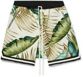 Fear Of God Printed Cotton Drawstring Shorts
