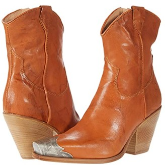 Free People Brayden Western Boot (Taupe) Women's Shoes