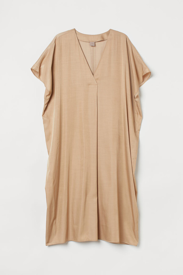 Thumbnail for your product : H&M H&M+ V-neck kaftan dress