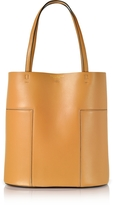 Tory Burch Block-T Aged Vachetta Leather Medium Tote