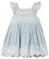 Gap Mascot Blue Eyelet Lace Dress