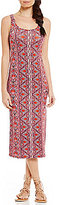 Billabong Share Joy Printed Midi Dress