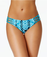 Hula Honey After Shock Tie-Dyed Strappy Bikini Briefs Women's Swimsuit
