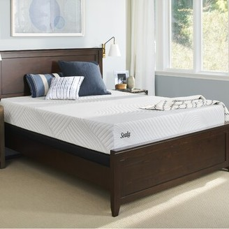 "Sealy Conform Essentials 10.5"" Medium Memory Foam Mattress and Box Spring Mattress Size: King, Box Spring Height: Standard Profile (9"")"