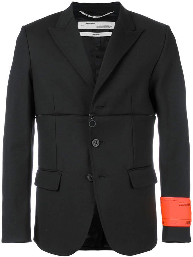 Off-White zip off blazer